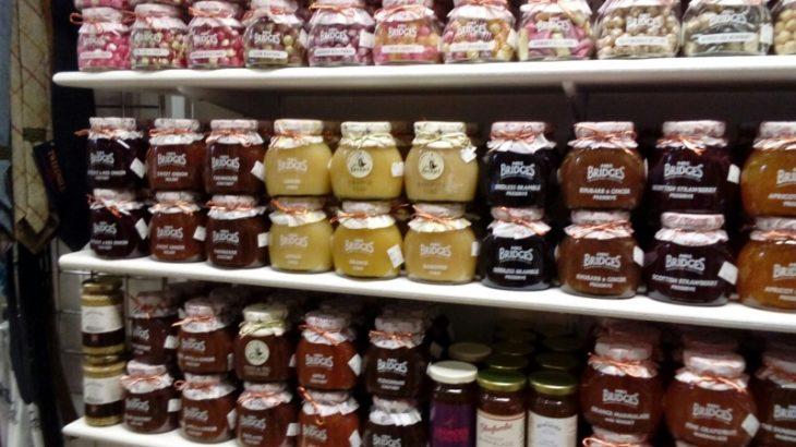 Mrs Bridges jams, sweets and chutneys