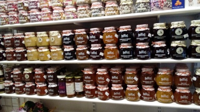 Jams sweets and chutneys