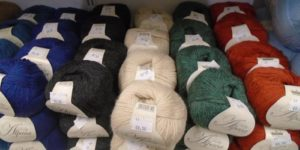 Knitting wool on sale